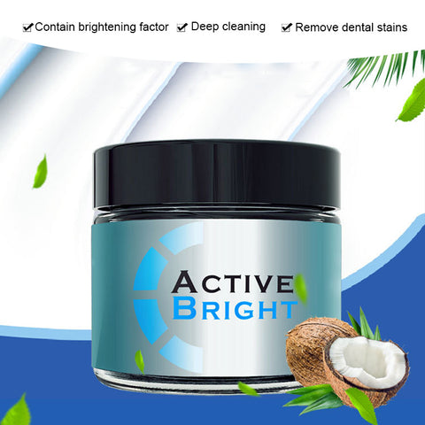 Coconut Shells Activated Teeth Whitening Powder