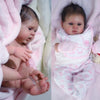 "Blinkin Girl - Full Vinyl Body!  (16.5"" Reborn Doll Kit)"