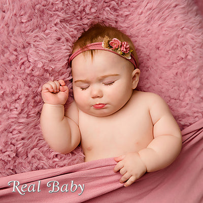 "Realborn® 7 Month June Sleeping (25"" Reborn Doll Kit)"