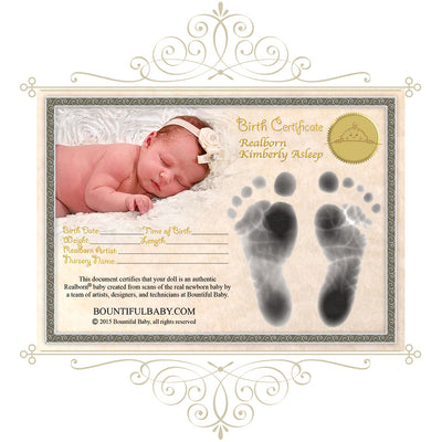 "Realborn® Kimberly Sleeping (20"" Reborn Doll Kit)"