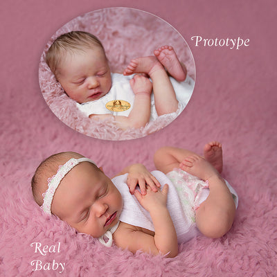 "Realborn® Skya Sleeping (18.5"" Doll Kit)"