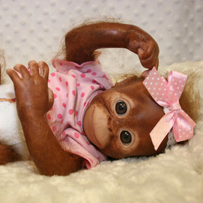 "Painted Rooted Bindi Orangutan (16"" Kit)"