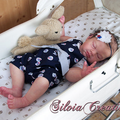 "Easton, 6 Month Old (23"" Reborn Doll Kit)"