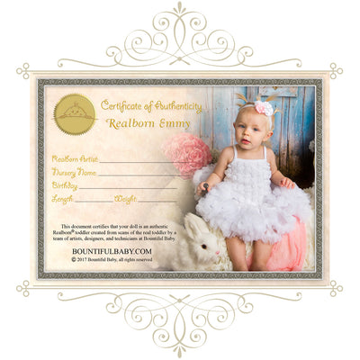 "Realborn® Emmy Toddler (30"" Reborn Doll Kit)"