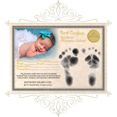 "Realborn® Miranda Sleeping (19"" Reborn Doll Kit)"