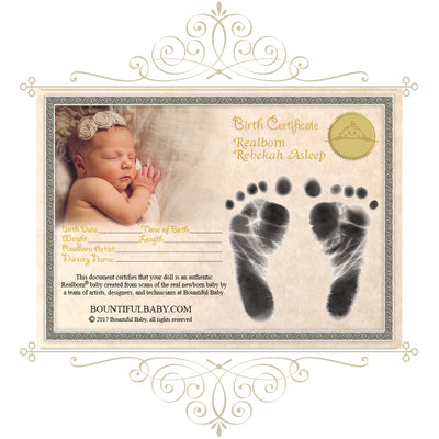 "Realborn® Rebekah Sleeping (19"" Reborn Doll Kit)"