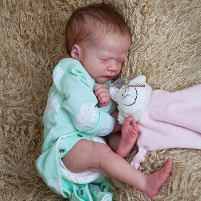 "Realborn® Ashley Sleeping (17"" Doll Kit)"