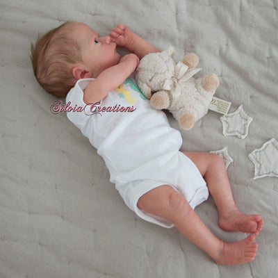 "Realborn® Ashley Awake (17"" Reborn Doll Kit)"