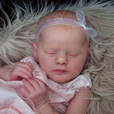 "Realborn® Evelyn Sleeping TWIN (19"" Reborn Doll Kit)"