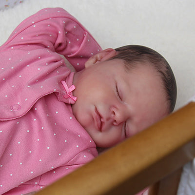 "Realborn® Macey Sleeping TWIN (18"" Reborn Doll Kit)"