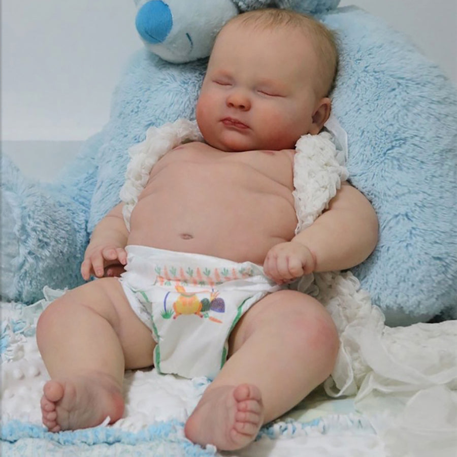 Realborn 3 month joseph sleeping 23 reborn doll