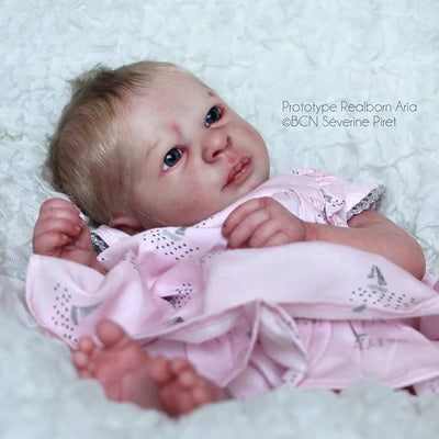 "Realborn® Aria Awake (17"" Reborn Doll Kit)"