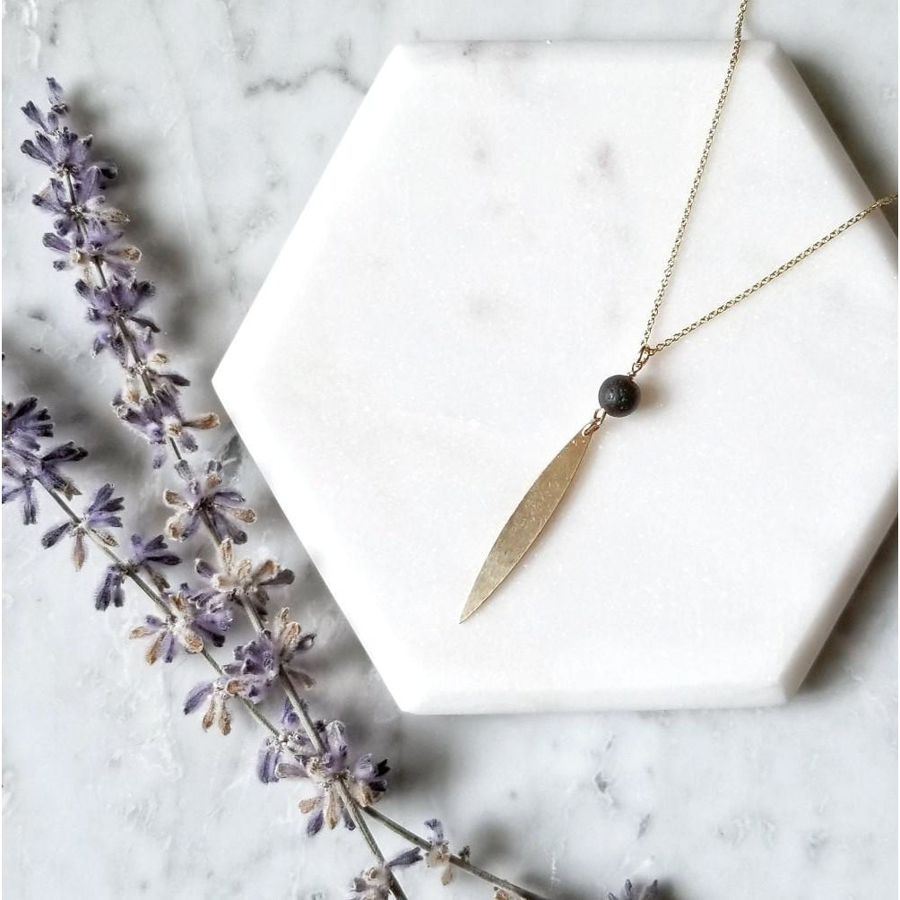 Aromatherapy Marquise Necklace