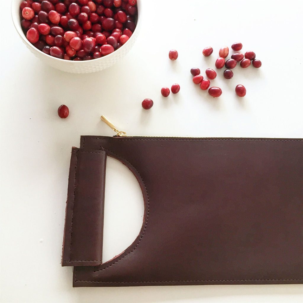 Cary Clutch (Cranberry)