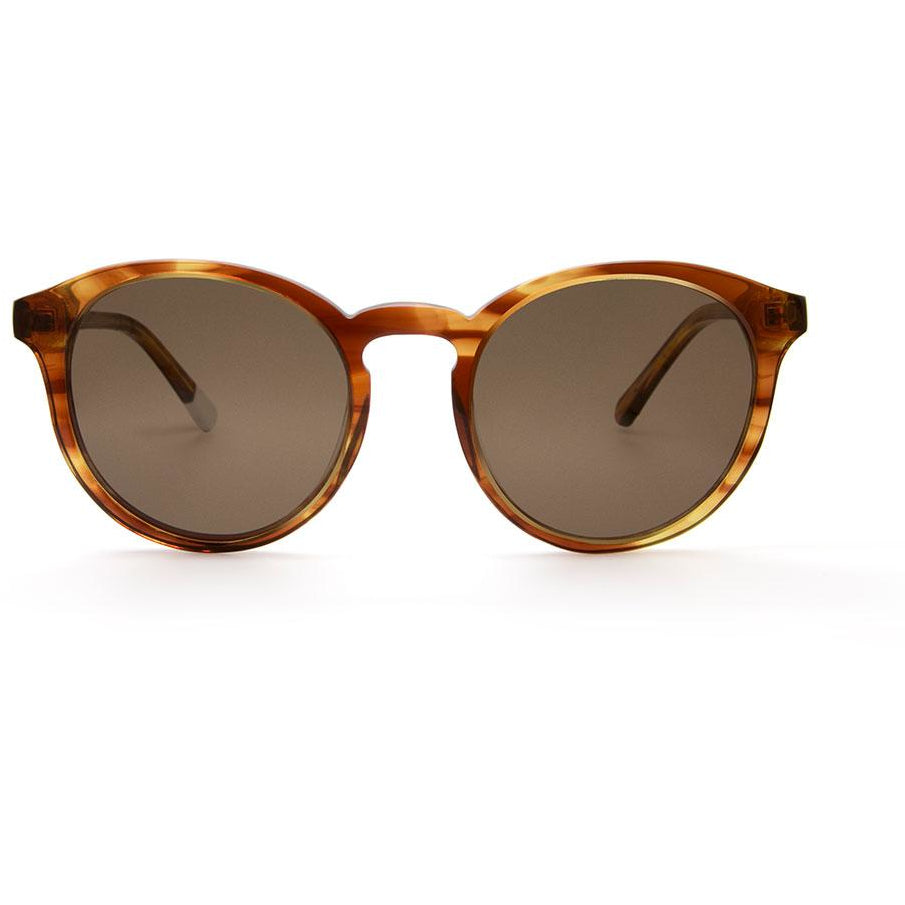 Darya Honey Tortoiseshell Sunglasses
