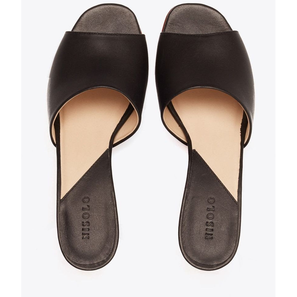 Elizabeth Slide (Black)