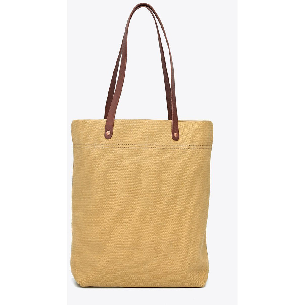 Canvas Tote Pale Mustard
