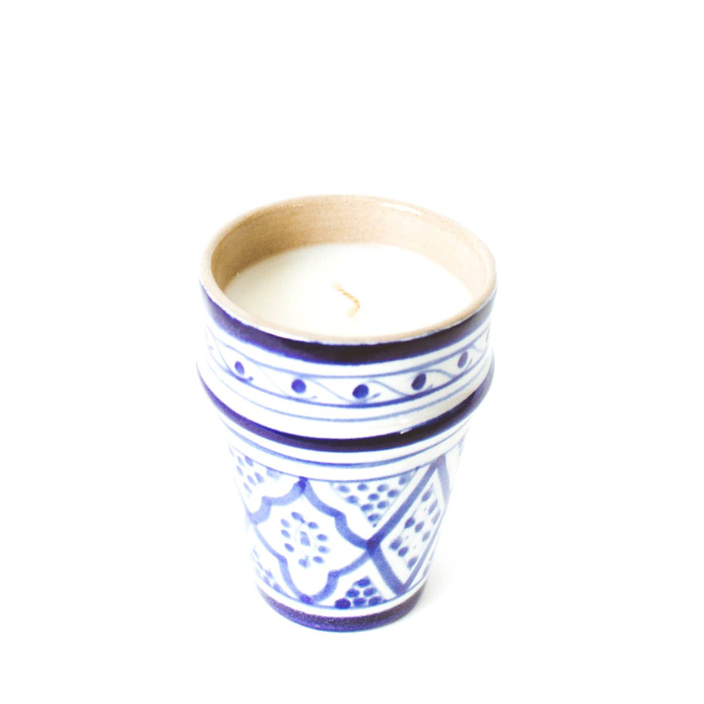 Essaouira Candle - Blue