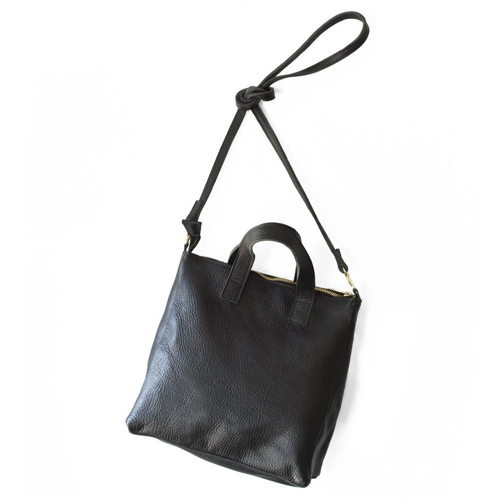 Larger Crossbody Handbag (Black)