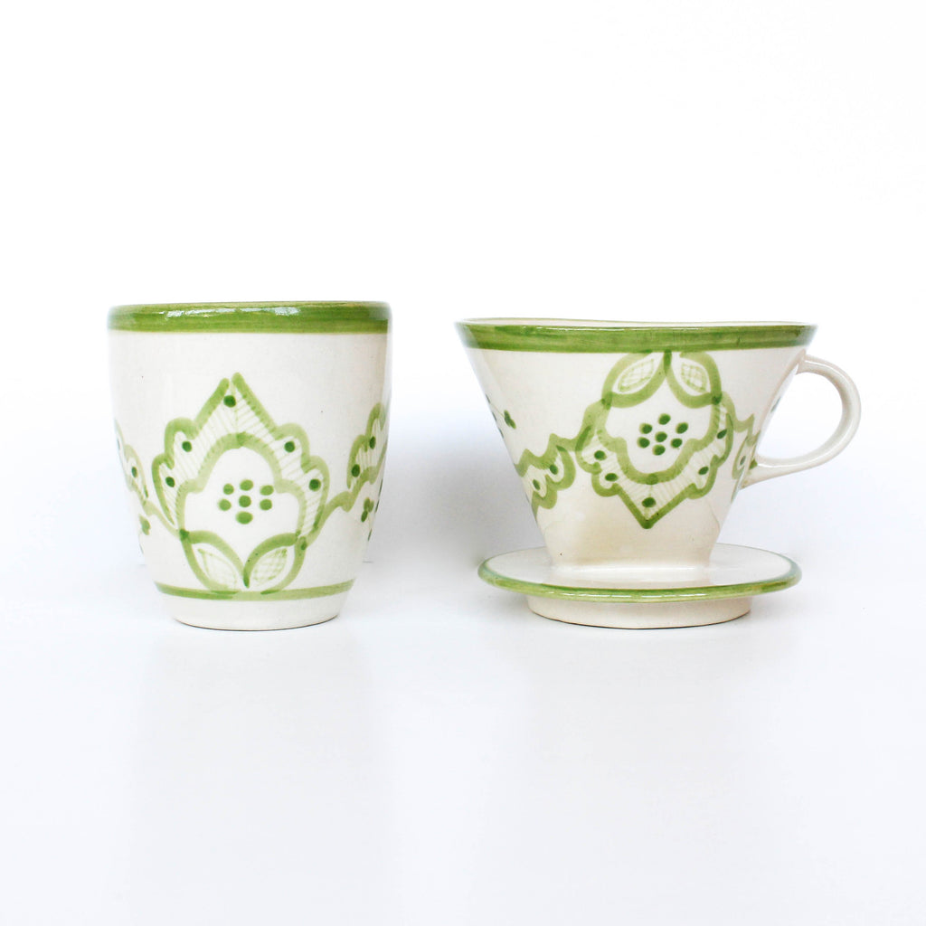 Handless Mug - Green