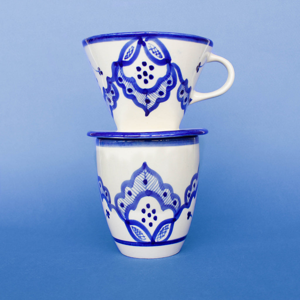 Handless Mug - Blue