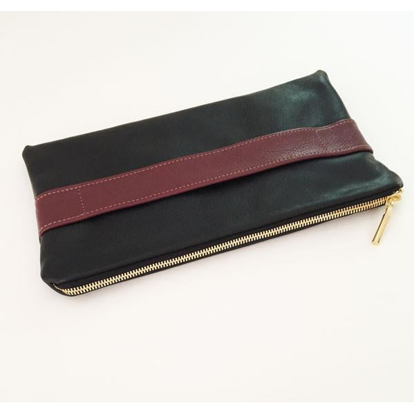 Newbury Clutch (Black and White)