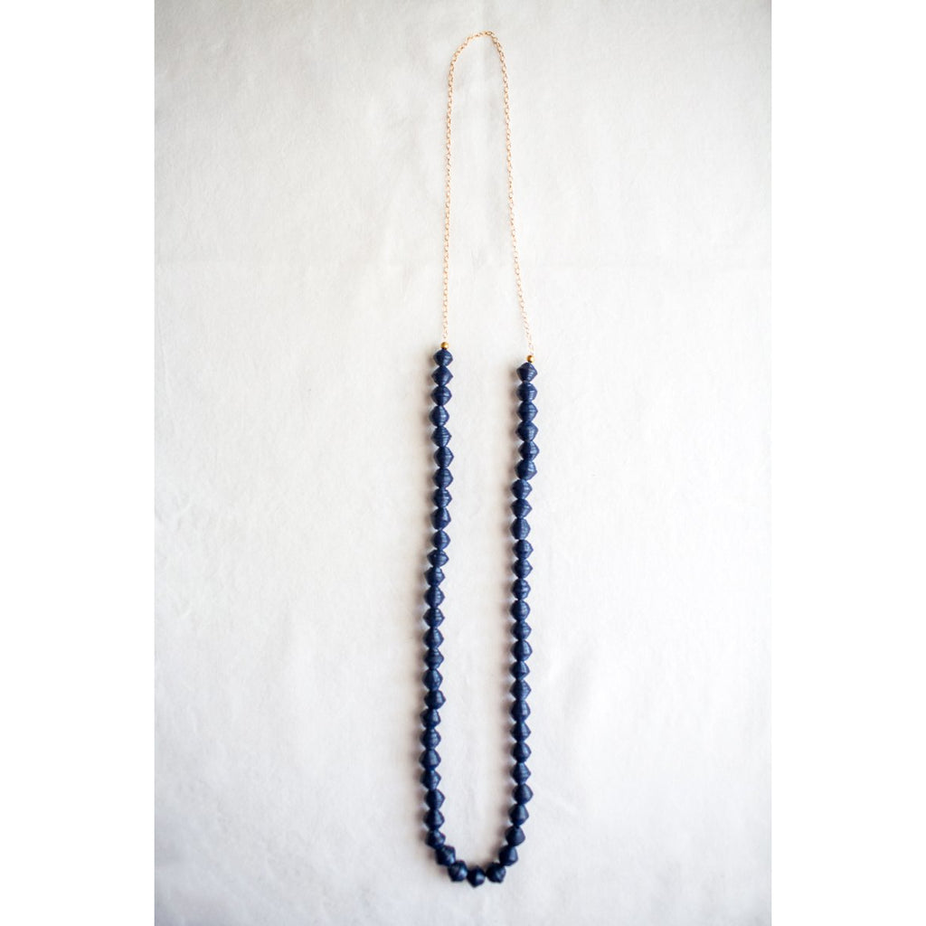The Daily Necklace (Navy)