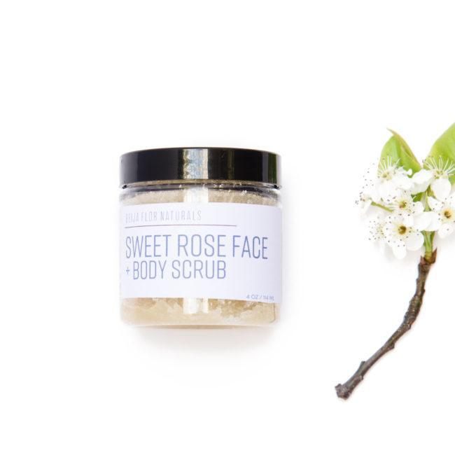 Sweet Rose Face & Body Scrub