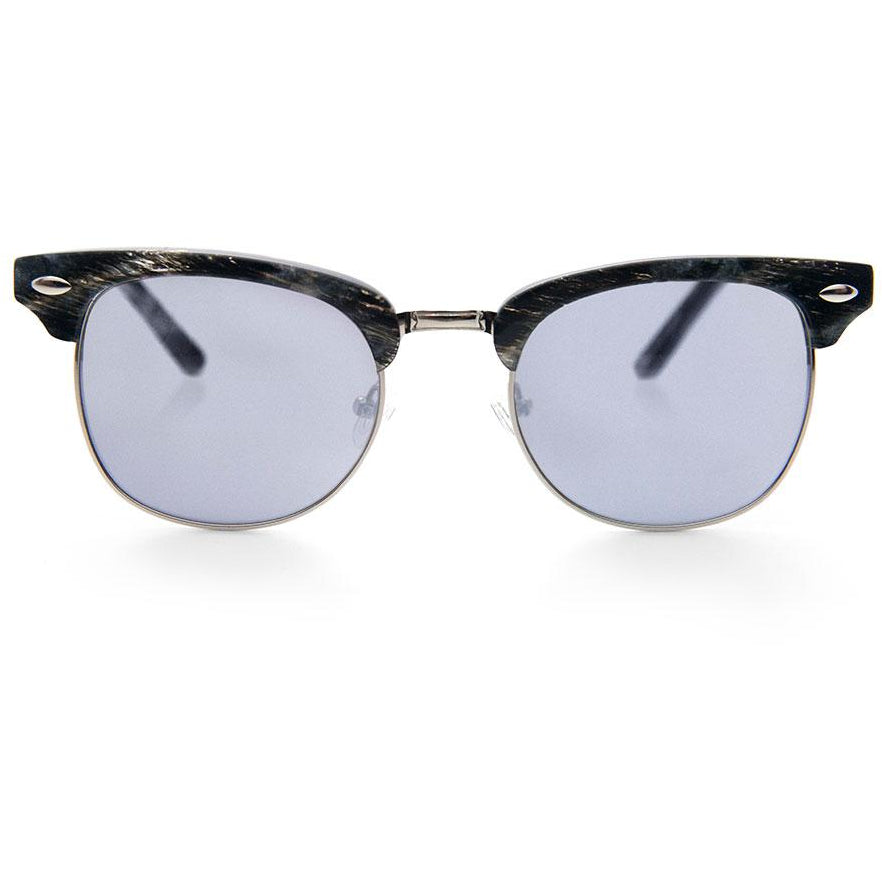 Dayo Black Horn Sunglasses