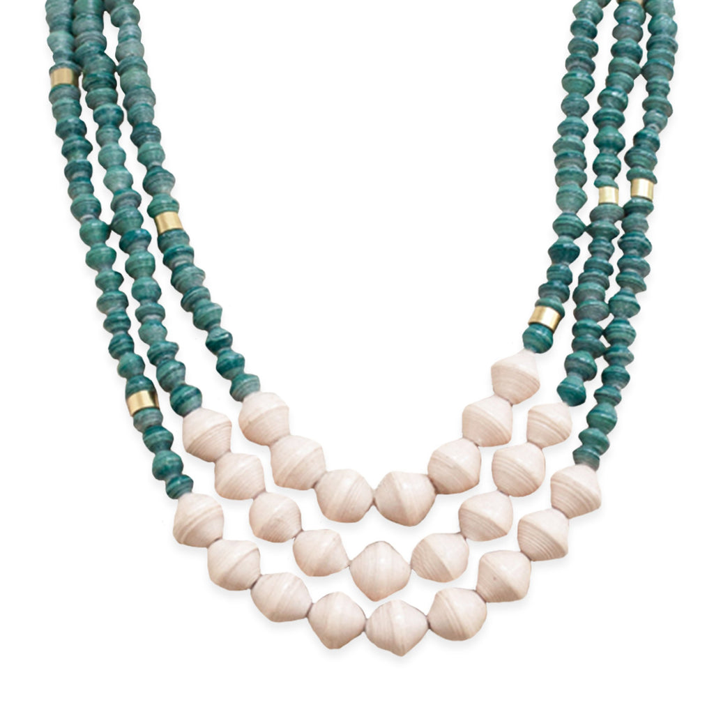 Emery Necklace - Forest Green