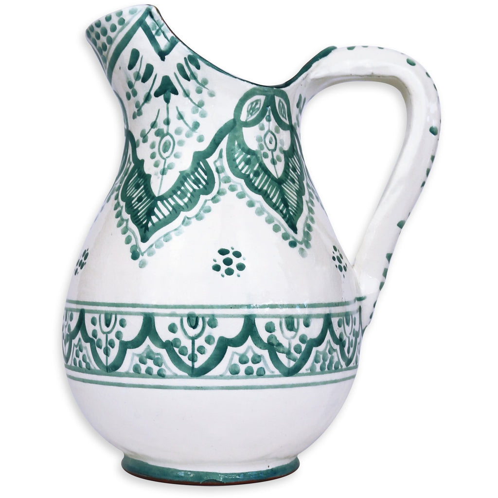 Large Pitcher - Turquoise