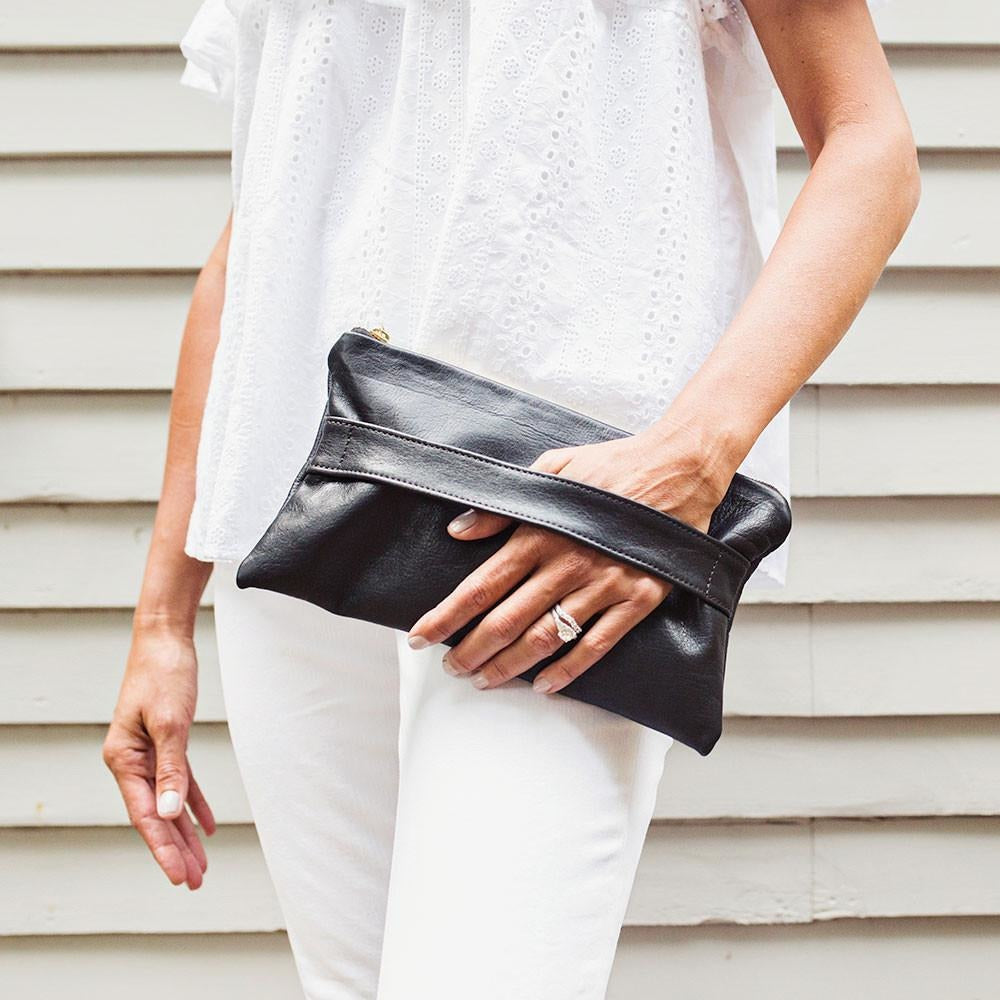 Newbury Clutch (Black)