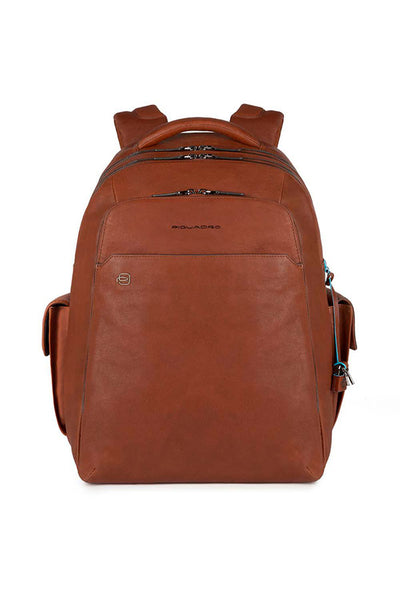 Piquadro Black Square Backpack