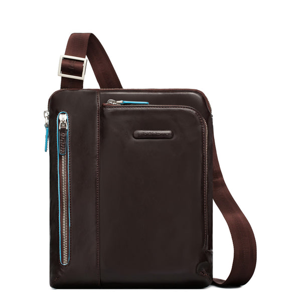 Piquadro Blue Square Shoulder Pocketbook