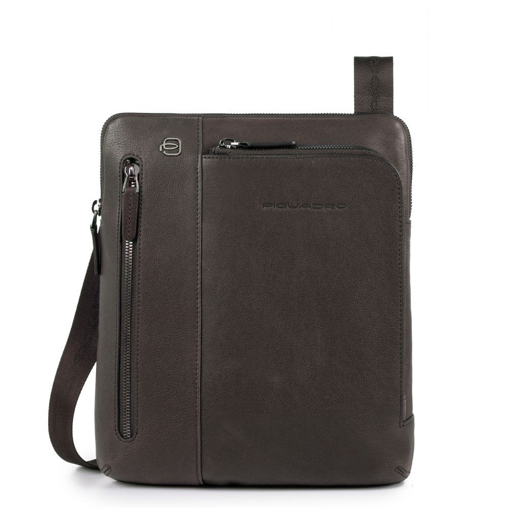Piquadro Black Square Crossover Bag