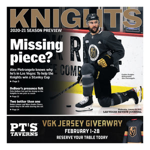 2021 Golden Knights season preview special section