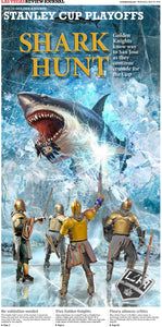 Golden Knights vs Sharks Special Section Collectible