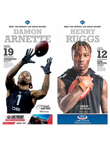 Raiders first round pick posters
