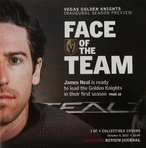 Review-Journal James Neal Collectible
