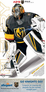 Marc-Andre Fleury Poster 2019