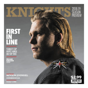 2018-2019  Golden Knights Season Preview-William Karlsson