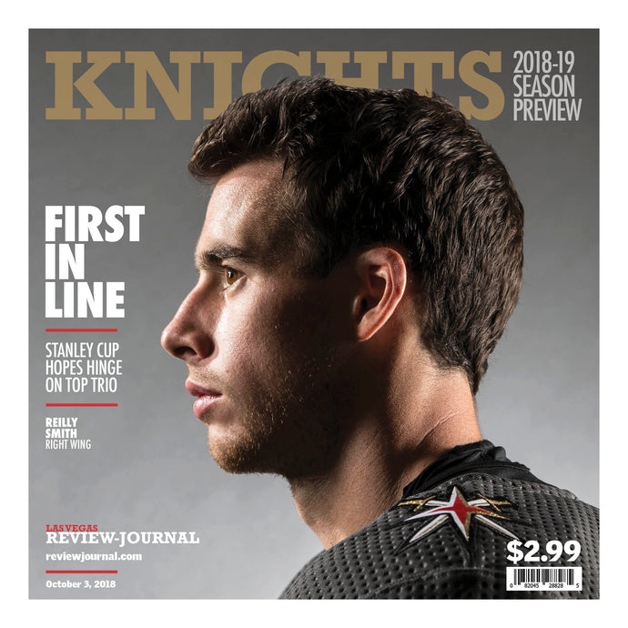 2018-2019  Golden Knights Season Preview-Reilly Smith