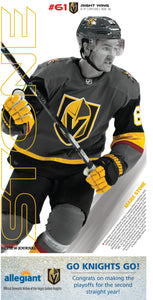 Mark Stone Poster