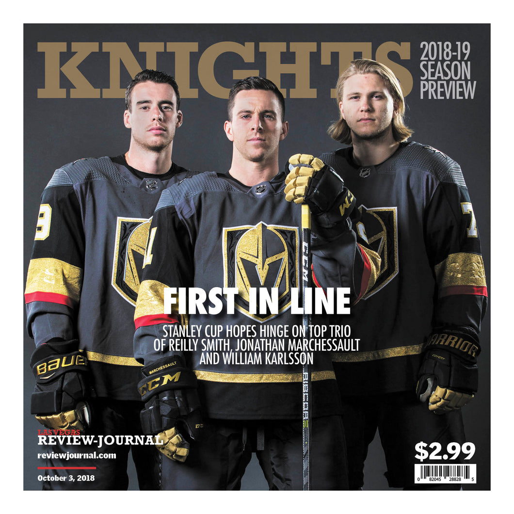 2018-2019  Golden Knights Season Preview-First in Line