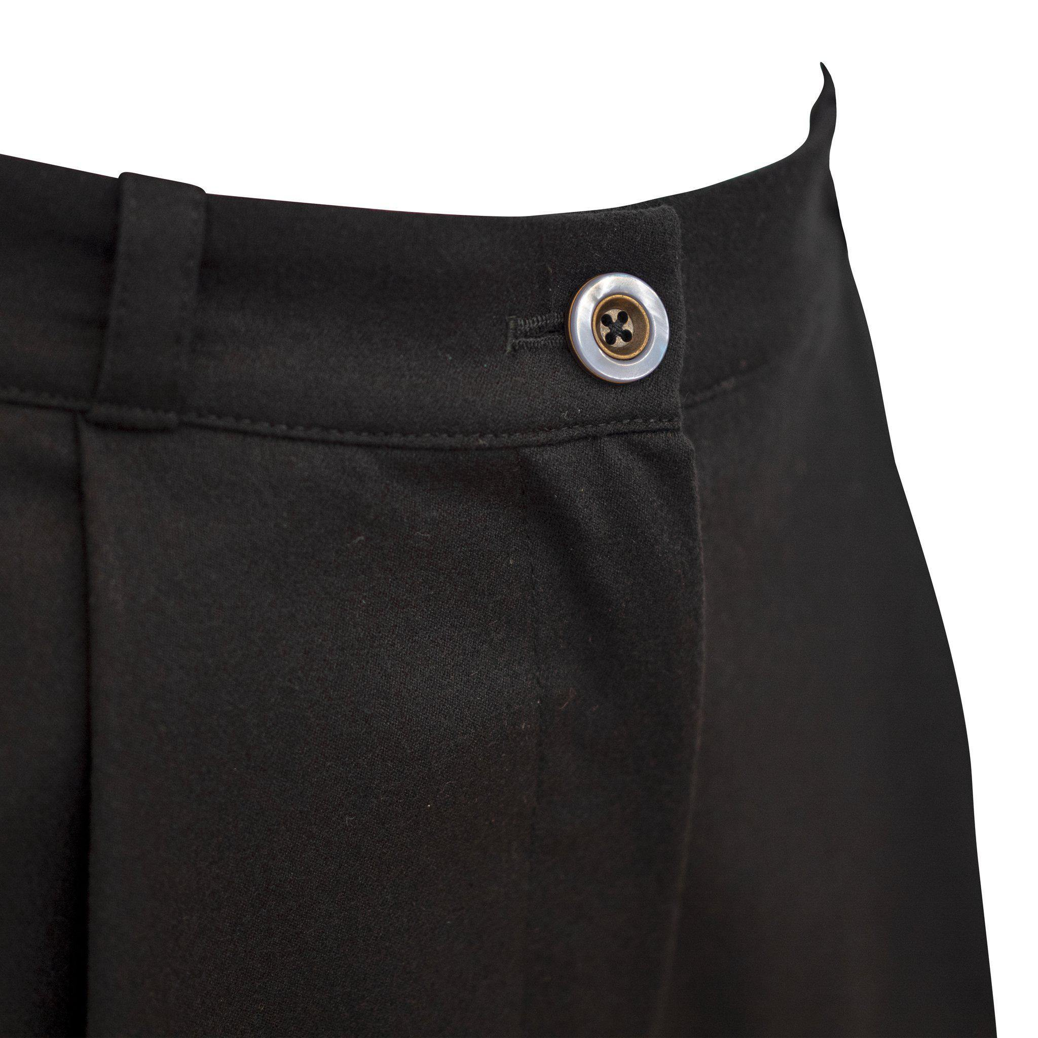 August Pants Black Wool