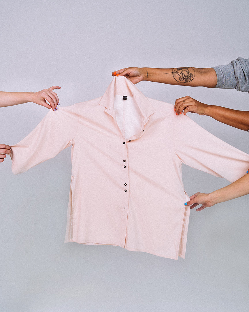 Jerome Shirt Rose Pink Silk