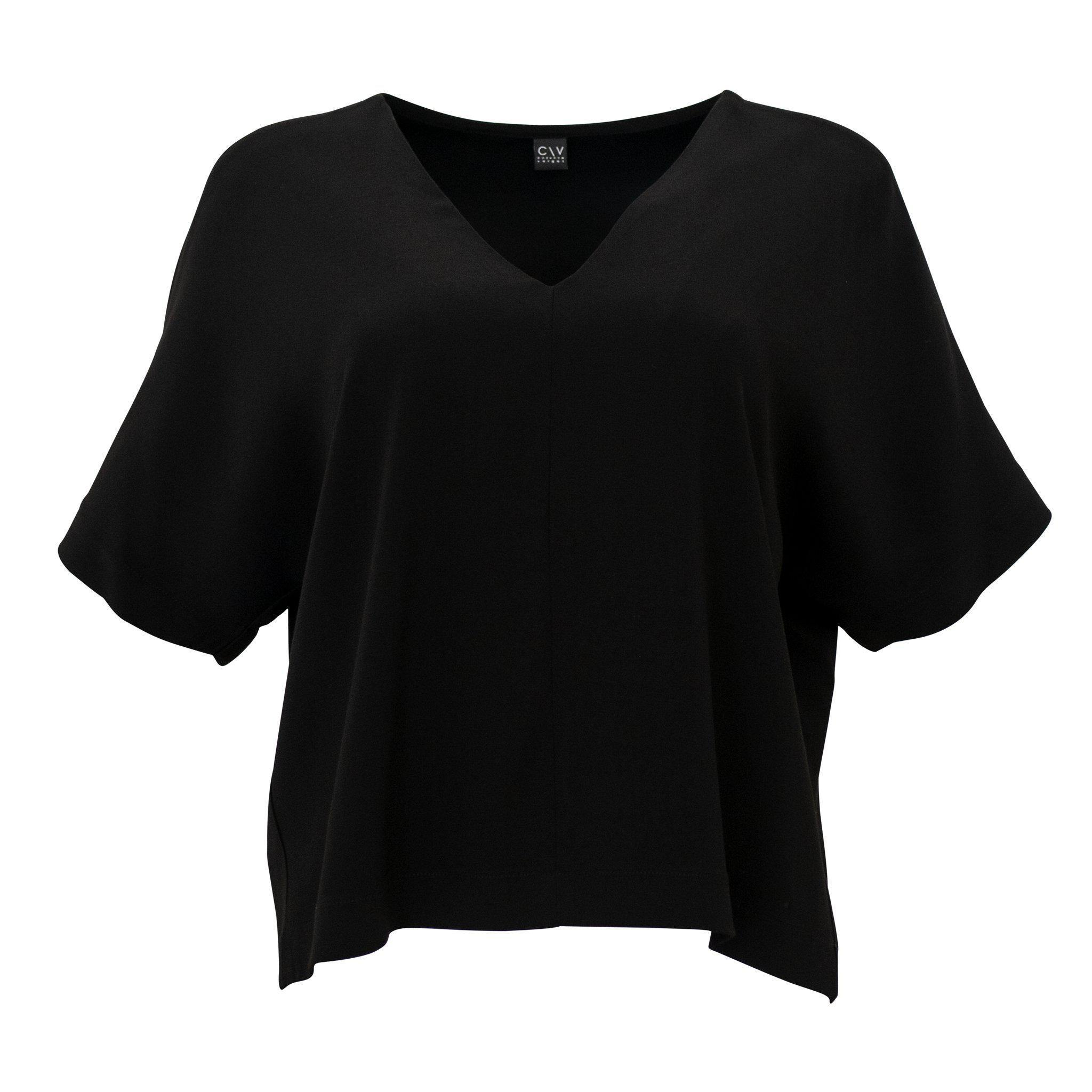 Lille Top Black Silk - Corvera Vargas berlin conscious fashion brand. Lille Top Black Silk for women. Consci