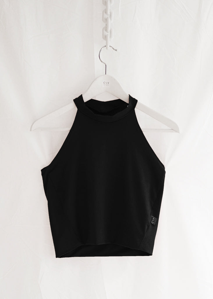 Milana Top Black - Corvera Vargas berlin conscious fashion brand. Milana Top Black for women.