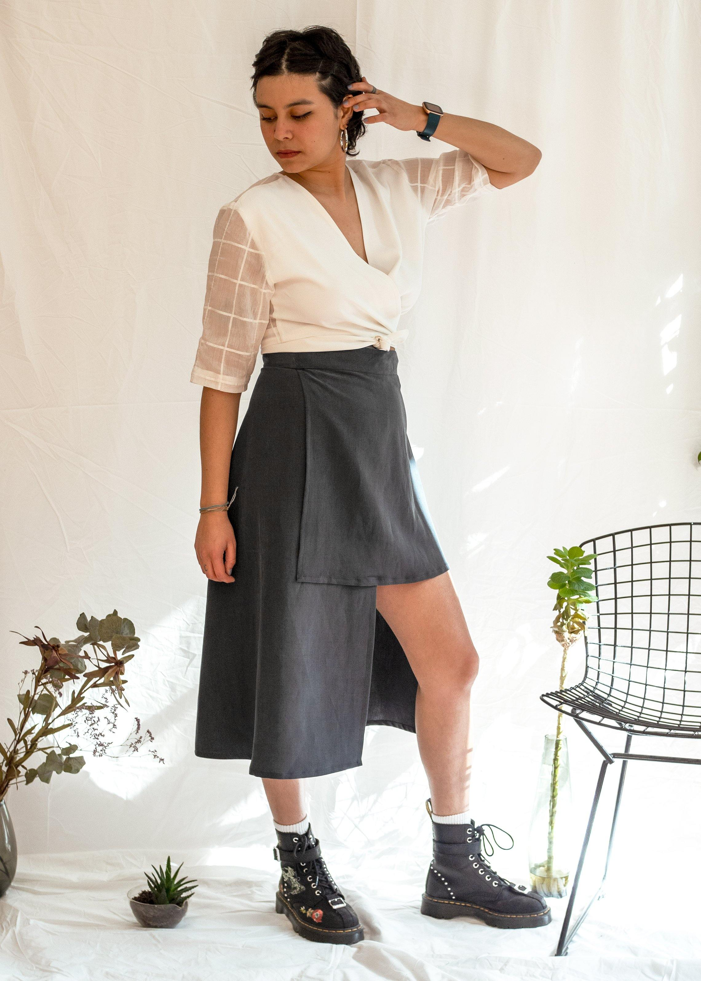 Penelope Wrap Skirt
