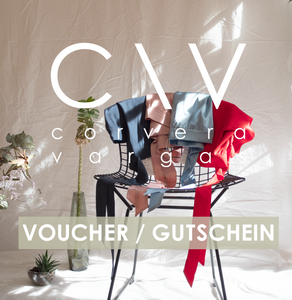 C\V Voucher - Corvera Vargas berlin conscious fashion brand. C\V Voucher for women. Consci